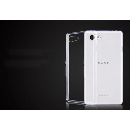 Sony Xperia Z1 Compact silikoonkaitse Ultra Slim õhuke läbipaistev