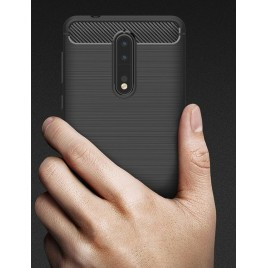 Huawei Mate 20 silikoonkaitse Carbon must