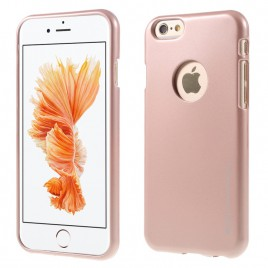 Apple Iphone 5 / 5S / SE Mercury Jelly Silikoonkaitse metallik-roosa