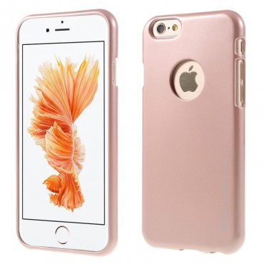 Apple Iphone 7 Plus / 8 Plus Mercury Jelly Silikoonkaitse metallik-roosa