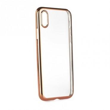 Apple Iphone X Fancy silikoonkaitse Roosa äärega