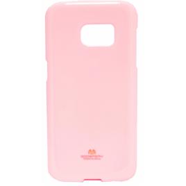 Huawei P8 Lite 2017 / P9 Lite 2017 Mercury Jelly Silikoonkaitse Heleroosa