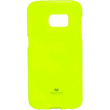 Samsung G930 Galaxy S7 Mercury Jelly Silikoonkaitse Helendav laimiroheline