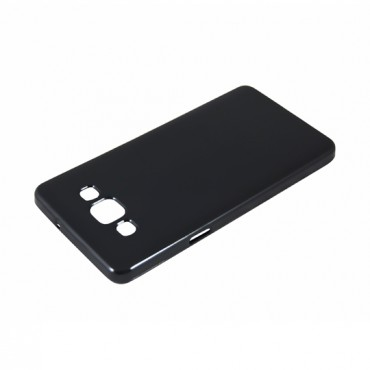 Samsung G935 Galaxy S7 Edge silikoonkaitse must