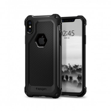 Apple Iphone X Spigen Rugged Armor silikoonkaitse