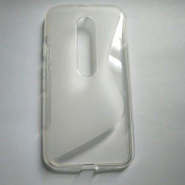 LG F70 D315 silikoonkaitse läbipaistev