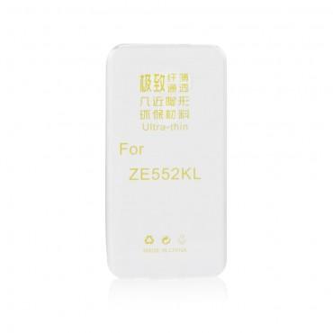Asus Zenfone 3 Laser (ZC551KL) silikoonkaitse valge