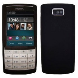 Nokia X3-02 silikoonkaitse must