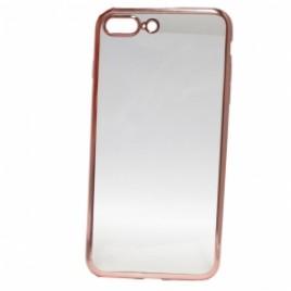Apple Iphone 5 / 5s / SE Fancy silikoonkaitse roosa äärega