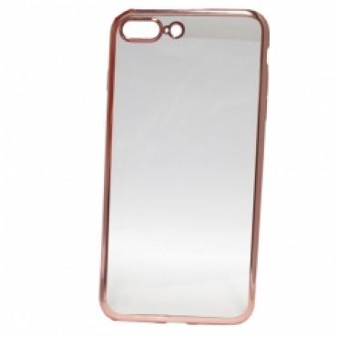 Samsung A5 (2016) / A510 Fancy silikoonkaitse roosa äärega