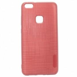 Huawei P10 Lite Silikoonkaitse Cloth punane
