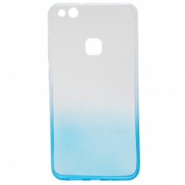 Huawei P10 Lite silikoonkaitse Ombre helesinine