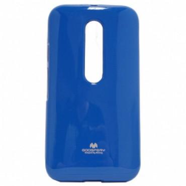 Motorola Moto G3 Mercury Jelly silikoonkaitse sinine