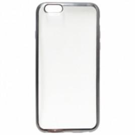 Apple Iphone 6 / 6s Fancy silikoonkaitse hõbedase äärega