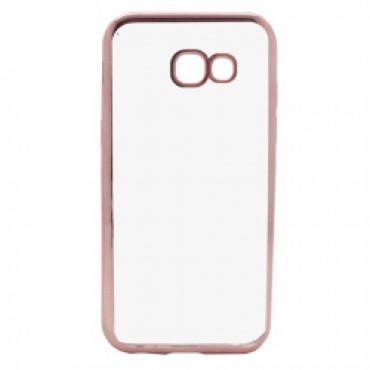 Samsung A5 (2017) / A520 Fancy silikoonkaitse Roosa äärega
