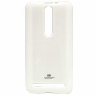 Motorola Moto G3 Mercury Jelly silikoonkaitse valge