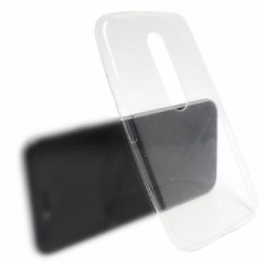 LG K40 / K12 Plus silikoonkaitse Ultra Slim õhuke läbipaistev