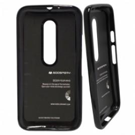 OnePlus 6T Mercury Jelly Silikoonkaitse Must