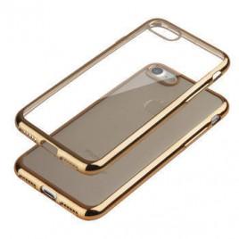 Huawei P10 Fancy silikoonkaitse kuldse äärega