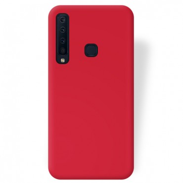 Samsung A9 (2018) / A920 silikoonkaitse matt punane