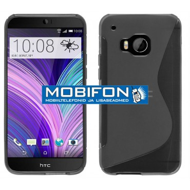 HTC One M9 silikoonkaitse must