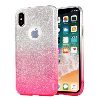 Samsung A10 / a105f silikoonkaitse Bling roosa