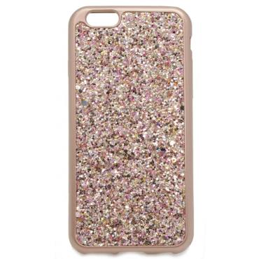 Apple Iphone 7 / 8 silikoonkaitse Briko Shine rosegold