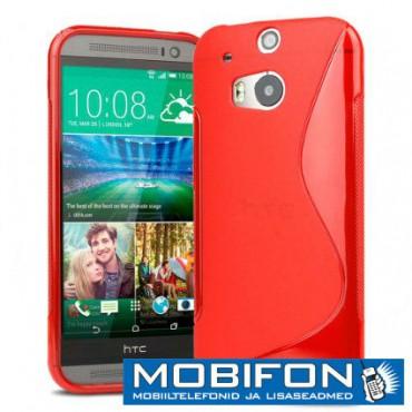 LG F70 D315 silikoonkaitse punane