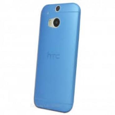 HTC One M10 silikoonkaitse õhuke läbipaistev sinine