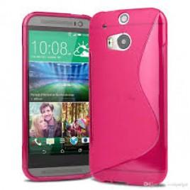 HTC One mini 2 silikoonkaitse roosa
