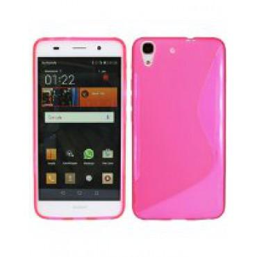 HTC One M8 / M8s silikoonkaitse roosa