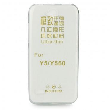 Huawei Y5 Y560 silikoonkaitse õhuke läbipaistev