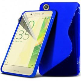 LG K10 K420N silikoonkaitse sinine