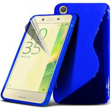 HTC One A9 silikoonkaitse sinine