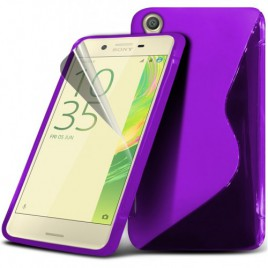 Huawei Y550 silikoonkaitse lilla
