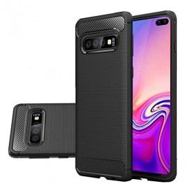 Samsung S10e / S10 Lite / G970 silikoonkaitse Carbon must
