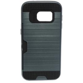 Samsung G935 Galaxy S7 Edge Armor Silikoon plastik hübriidkaitse Hall