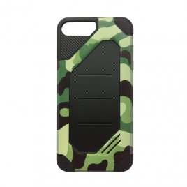 Apple Iphone 6 Plus / 6s Plus hübriidkaitse Army Camouflage roheline