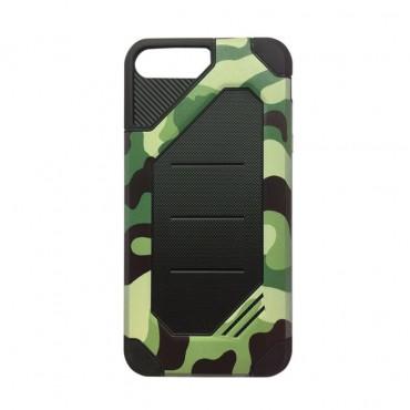 Apple Iphone 6 Plus / 6s Plus hübriidkaitse Army Camouflage roheline