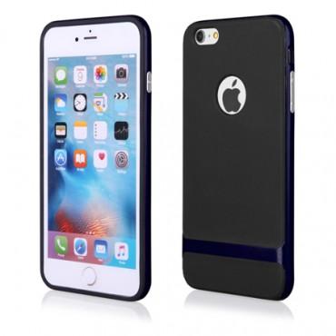 Apple Iphone 6 Plus / 6s Plus FX hübriidkaitse must