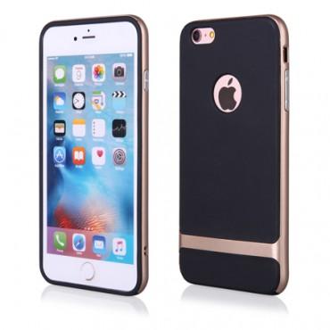 Apple Iphone 6 Plus / 6s Plus FX hübriidkaitse must-kuldne