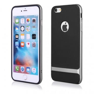 Apple Iphone 6 Plus / 6s Plus FX hübriidkaitse must-hõbe