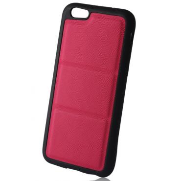 Samsung G530 / G531 Galaxy Grand Prime Silikoon / Nahk Hübriidkorpus roosa
