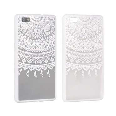 Apple Iphone 5 / 5S / SE Lace ümbris Design 1 valge