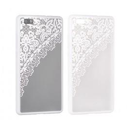 Samsung S7 Edge / G935 Lace ümbris Design 2 valge