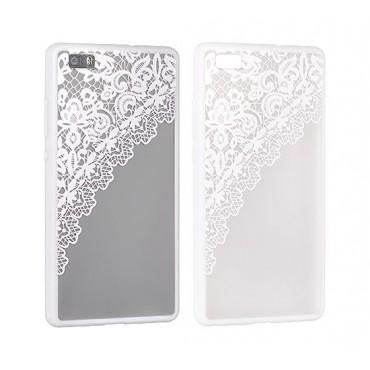 Apple Iphone 7 / 8 Lace ümbris Design 2 valge