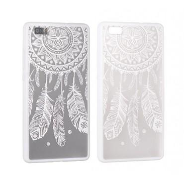 Samsung S7 / G930 Lace ümbris Design 3 valge