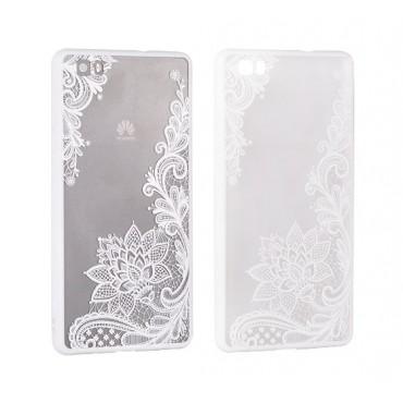 Apple Iphone 7 / 8 Lace ümbris Design 4 valge