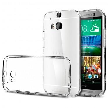 HTC One M8 / M8s silikoonkaitse õhuke läbipaistev