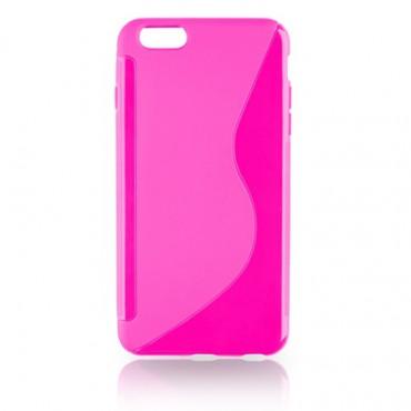 LG F70 D315 silikoonkaitse roosa